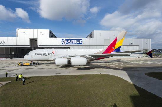 韩亚航空A380客机
