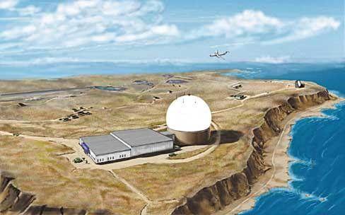 资料图:X波段雷达站示意图