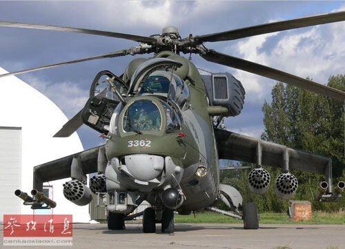 资料图:俄罗斯米-35直升机