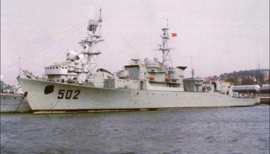 资料图:中国502号护卫舰准备充分,开战8分钟就击沉了越南一艘运输舰