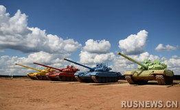 资料图:俄罗斯坦克大赛