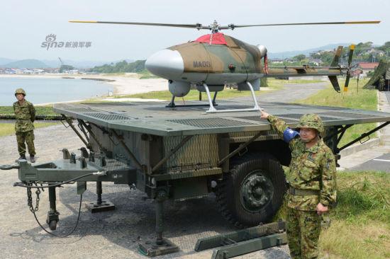 资料图:日本陆上自卫队公开国产先进无人侦察直升机