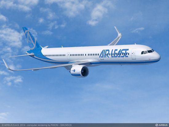 空中客车集团A321neo飞机
