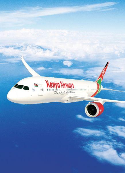 肯尼亚航空公司波音787梦幻客机