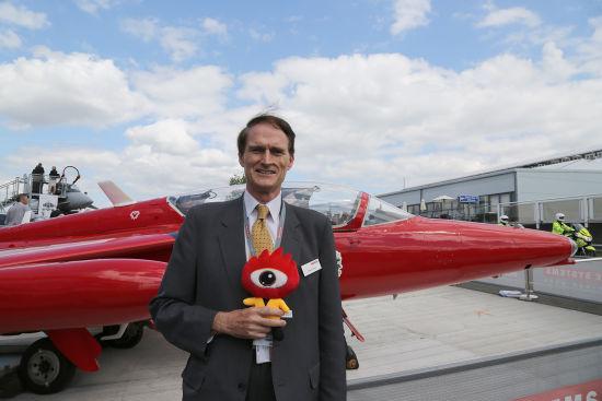 BAE北京代表处总裁麦瑞礼接受新浪航空专访