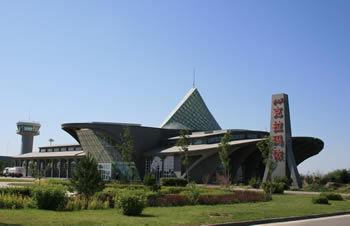 资料图片:克拉玛依机场