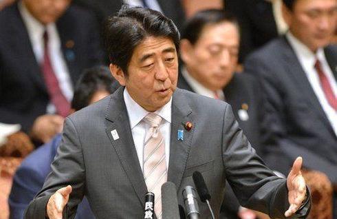 资料图:日本首相安倍晋三。先前,日媒称安倍拟于9月访问朝鲜。