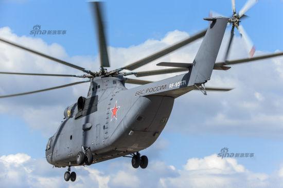 资料图:俄罗斯米26重型直升机