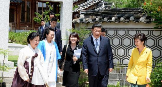 中国国家主席习近平7月3日至4日对韩国进行国事访问