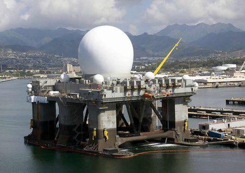 资料图:美军X波段反导预警雷达