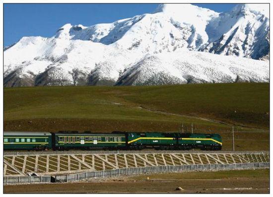 图注:青藏铁路