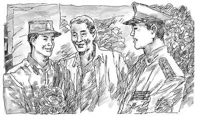 中国梦 手绘插画