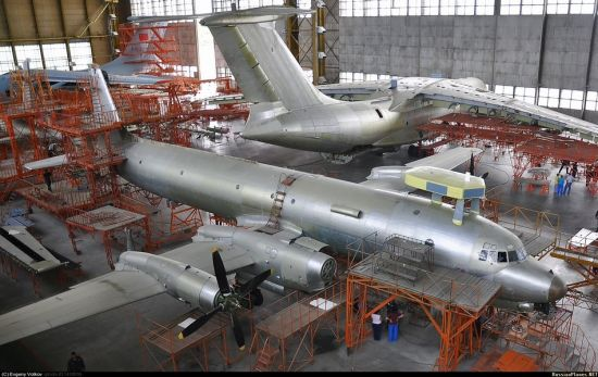 中国伊尔76在俄进行改装