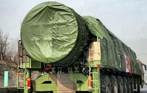 网上流传的疑似中国东风-41洲际弹道导弹