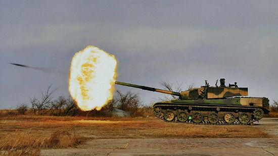 网络上流传的解放军最新型99改主战坦克