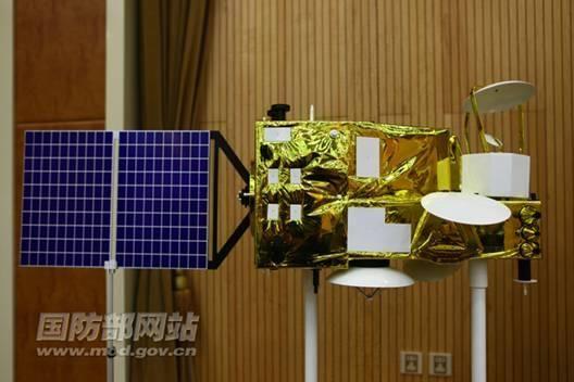 资料图:中国海洋二号卫星模型