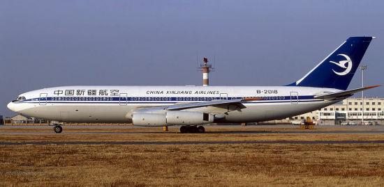 中国新疆航空曾经拥有我国全部的伊尔-86客机,它们都已在2003年退役