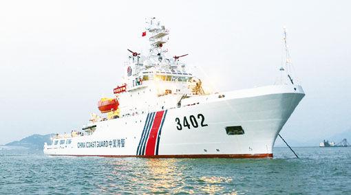 黄埔文冲新型4000吨级海警船全部交付