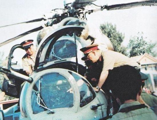 中国从巴基斯坦获得了一架米-24用于研究