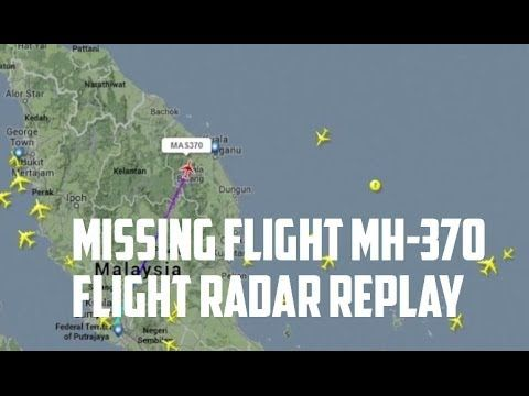 马来西亚公开的事发时空管二次雷达数据