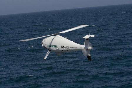 资料图:奥地利的S-100无人机是世界上目前为止最为可靠的技术