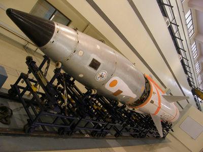 资料图:印度此次试射的PDV导弹,其弹头侧面有一个红外窗口,类似THAAD导弹