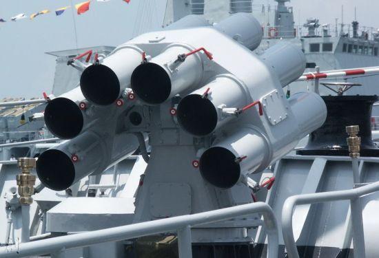 资料图:中国反潜利器-火箭深弹发射器