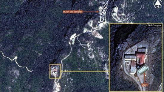 资料图:简氏防务周刊中的惠安综合电子对抗设施照片