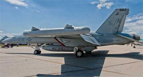 资料图:电子战对抗领域的技术更新很快,近10年更是突飞猛进,EA-18G可算是现在最好的电子战飞机