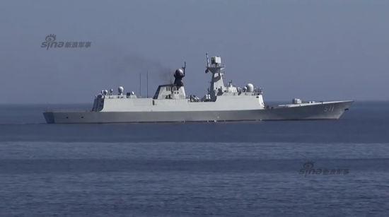 资料图:越南拍到的中国海军571运城舰