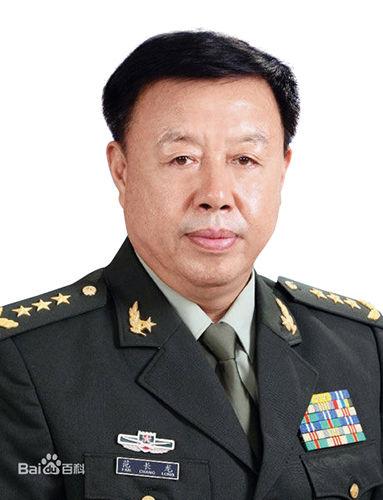 中央军委副主席范长龙上将