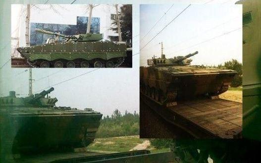 资料图:中国WZ-502改型步兵战车已装备38军