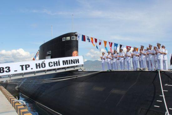 资料图:越南HQ-183号基洛级潜艇