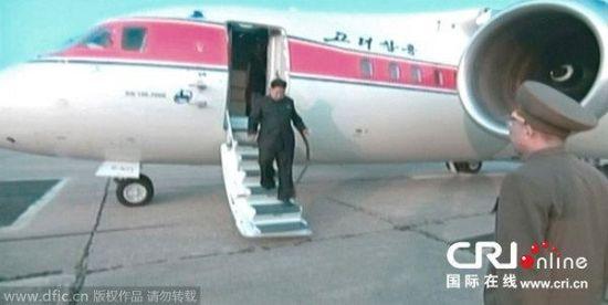 资料图:金正恩曾经坐过的安-148客机