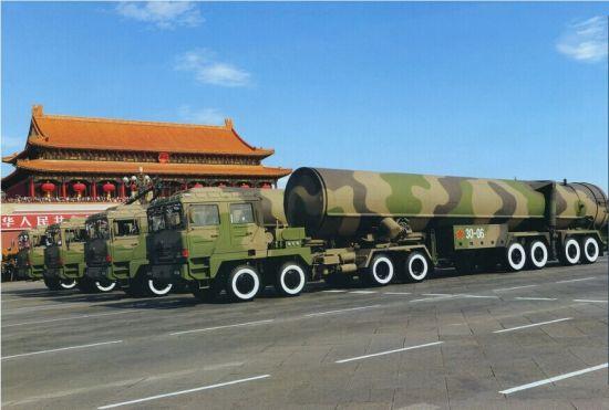 资料图:东风-31洲际导弹
