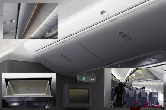 头顶行李舱空间够大开合方便
