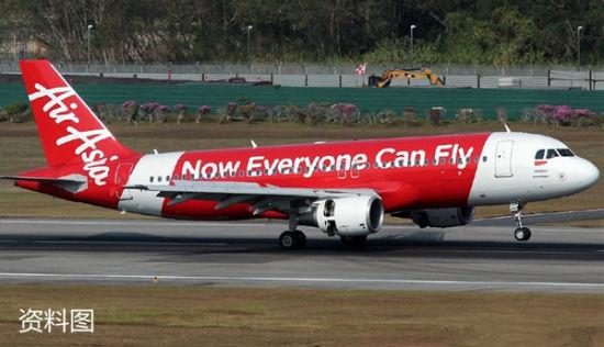 12月28日亚航QZ8501自印尼飞往新加坡时与地面失联
