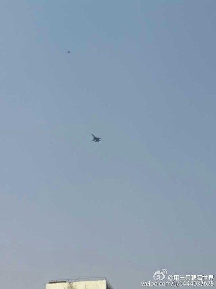 疑似空军歼-11部队开始巡航中缅边境