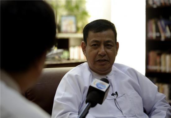 缅甸宣扬部长、总统讲话人吴叶图