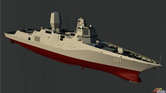 日前,有关055型万吨大驱的消息在网络上引发了热烈讨论,网友们结合信息,对055型驱逐舰进行了多种猜测,勾画出心中055型驱逐舰的模样。(图片:messiah527 西葛西造舰)