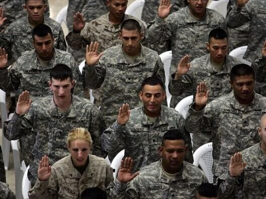 美军计划在未来两年内裁减4万名士兵,涉及几乎所有国内和海外军职