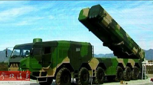 网上流传的中国大型移动导弹发射车图片(美国《大众科学》)