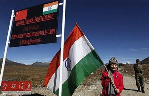 资料图片:中印边境和平景象