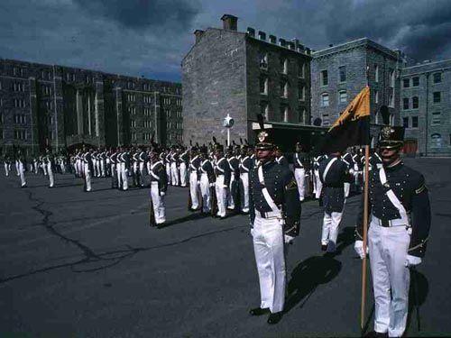 美国阅兵仪式