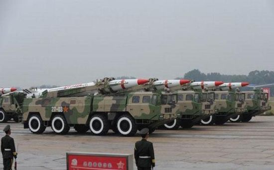 春风-11A远程地地导弹,代替者春风-10(材料图)