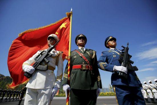 中国阅兵。