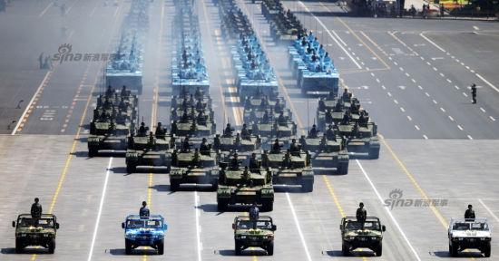 世界各大媒体密集评论中国阅兵式西方酸溜溜。