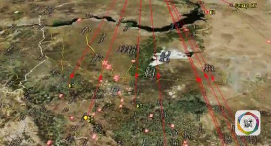 """俄军巡航导弹冲击""""伊斯兰国""""目的暗示图。"""