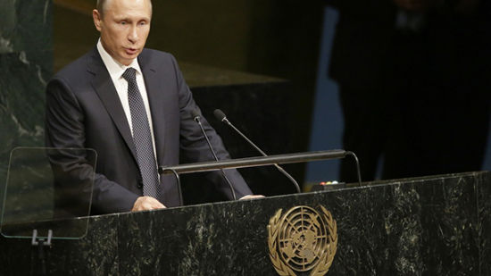 9月28日普京在联合国大会发表演讲