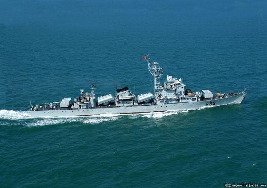 533台州号053H1型(江湖II级)护卫舰首舰(资料图)